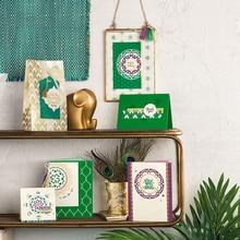 Julyarts 2018 Nyankomst 14st / lot Lotus Datura Blommaskärning Präglar Stencil Kort Dekoration Skrapbook DIY Hantverk