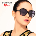 SUNRUN TR90 Women Polarized Sunglasses Vintage New Designer Sun glasses Retro Eyewear UV400 oculos de sol 6008