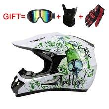 Rockstar kask motocyklowy cascos capacete da motocicleta motocross ATV Dirt bike downhill krzyż off road kaski