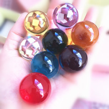 30 мм редкий многоцветный кварцевый хрустальный стеклянный магический шар фэн-шуй Хрустальный лечебный шар Товары для детей подарки на день рождения