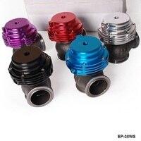 Tansky Wastegate Waste 38MM Red Purple Blue Sliver Black About 14 PSI Default Color Is