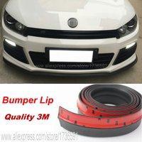 Car Bumper Lip Deflector For Volkswagen Golf GTI GTE Scirocco R32 R20 Touran Corrado Phaeton Front Spoiler Skirt Body Kit Strip