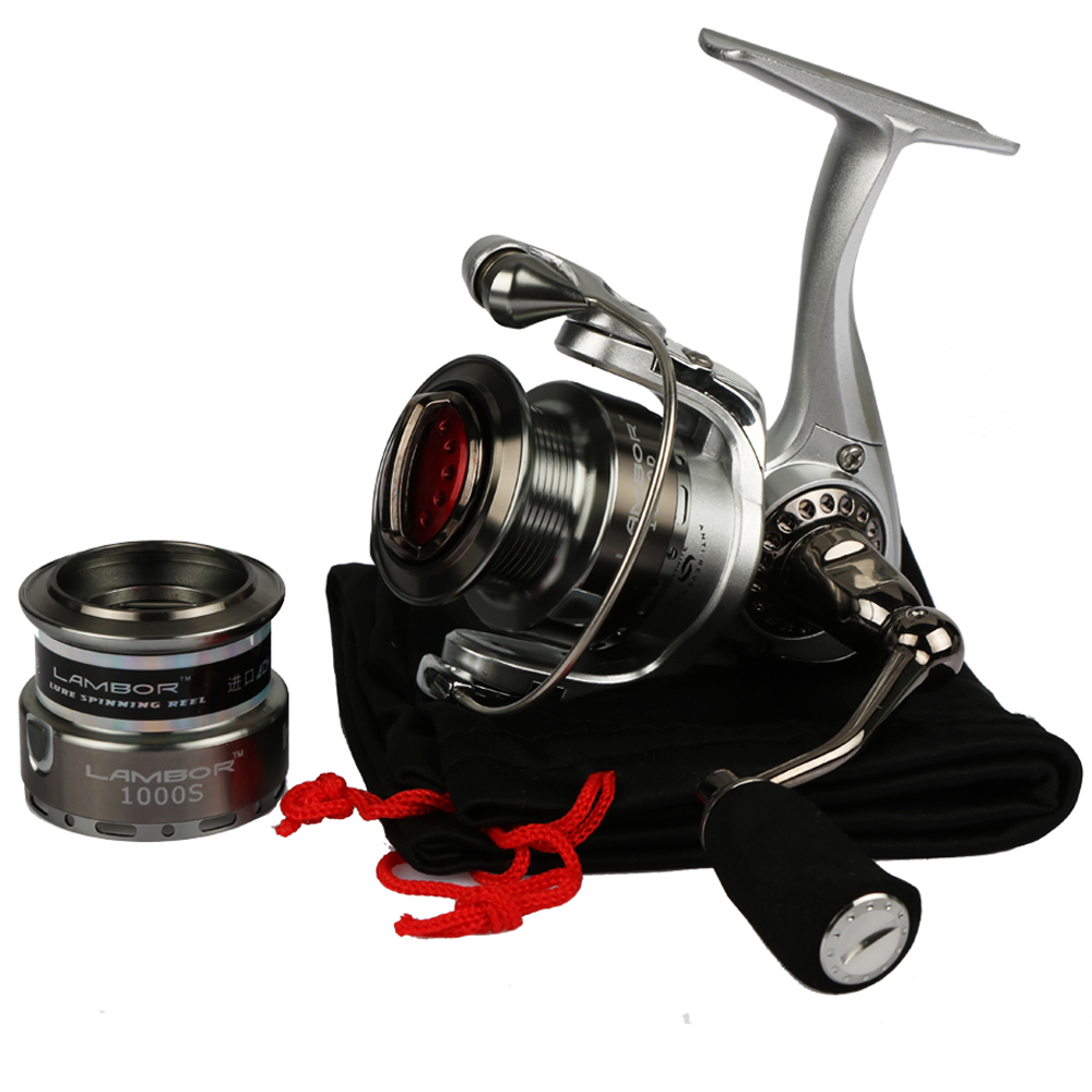 Haibo Lambor Spinning Fishing Reel Metal Spool Lure Reel 8BB 5.2: 1 - თევზაობა - ფოტო 5