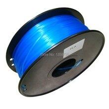 Прозрачный синий Цвет 3d принтер накаливания НОАК/ABS 1.75 мм/3 мм 1 кг пластик Резина Расходные Материалы
