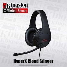 Наушники Kingston HyperX Cloud Stinger с микрофоном, игровая гарнитура Steelseries с микрофоном для ПК PS4 Xbox Mobile