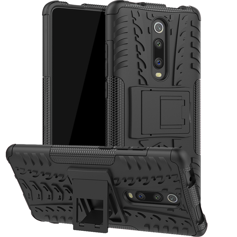 Armor Phone Case For Xiaomi Redmi K20 pro case Anti-knock Stand Shockproof Soft Bumper Phone Cover For Redmi K20 global Case bag
