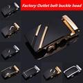 4.0 Men's automatic belt buckle belt buckle business casual factory direct alloy buckle men's belt