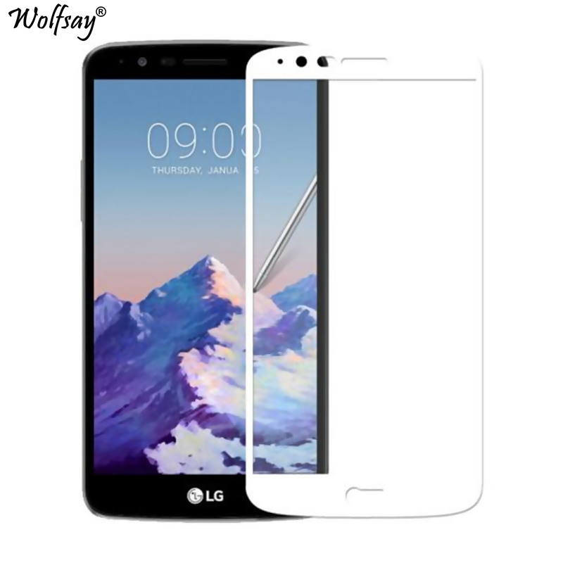 Full Coverage Glass sFor LG Stylus 3 Screen Protector Tempered Glass for LG Stylus 3 LS777 Curved Edge Film FOR LG Stylo 3 Glass