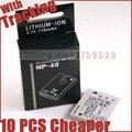 NP-40 NP40 FNP40 Bateria Da Câmera para FUJIFILM Z1 Z2 Z3 Z5 fd F402 F460 F470 F480 J50 V10 F810 F650 F700 bateria celular Baterias