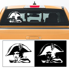 free shipping 1PC France storical celebrities Napoleon Bonaparte car window sticker