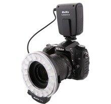 Đế pin Meike FC110 LED Macro Ring Sáng FC110 cho Pentax Canon EOS Nikon Olympus DSLR Camera
