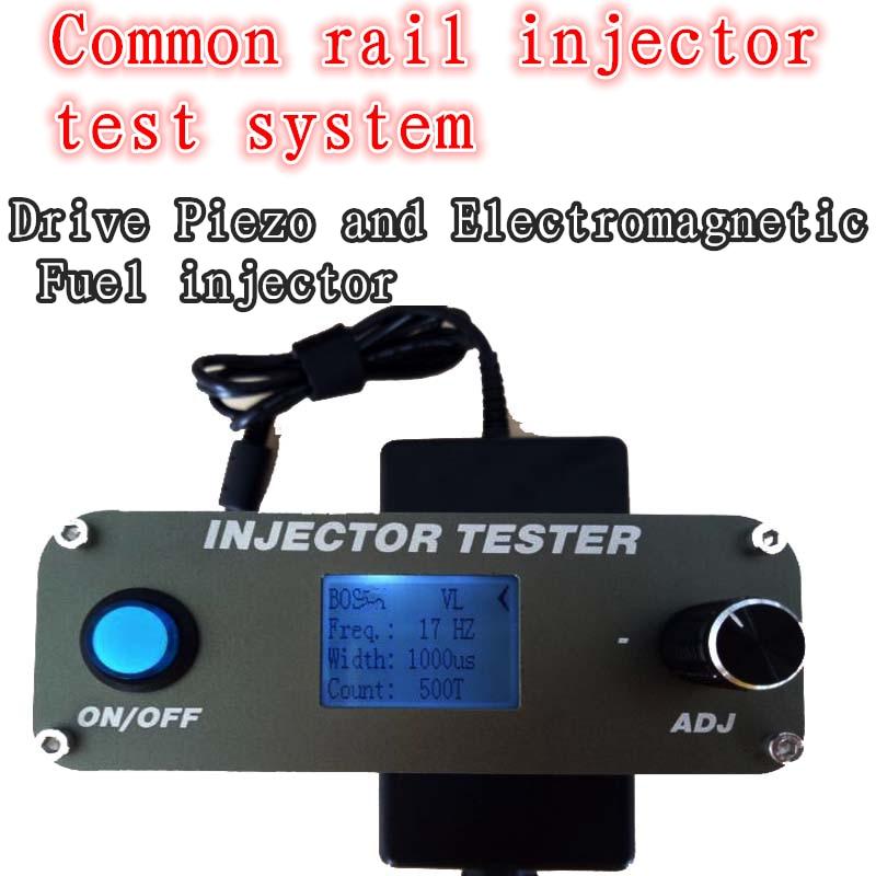 Testeur d'injecteur à rampe commune Diesel multifonction pour outils d'essai d'injecteur électromagnétique et piézo-électrique