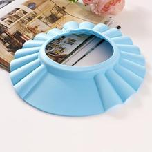 Adjustable Shower cap protect Shampoo for baby health Bathing bath waterproof caps 3 color