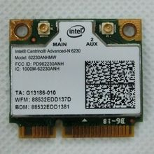 Original New  Half Mini PCI-E card intel 6230 62230ANHMW wireless express wlan network Wi-fi for laptop