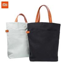 Xiaomi 15L large capacity Leisure Handbag Cotton Canvas Shoulder Bag Crossbody Messenger Daypack Outdoor Travel цена и фото