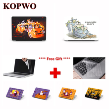 KOPWO Halloween Series Laptop Protective Case for Apple Macbook Air Pro 11 13 15 Inch Halloween Notebook Cover for A1369 A1466