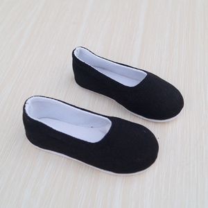 "Image 3 - จีนโบราณรองเท้ารองเท้าสีดำสำหรับ 1/4 17 ""44 เมตรสูง 1/3 ชายตุ๊กตา BJD MSD DK DZ AOD DD SD17 70 เซนติเมตรตุ๊กตาตุ๊กตาจัดส่งฟรี"
