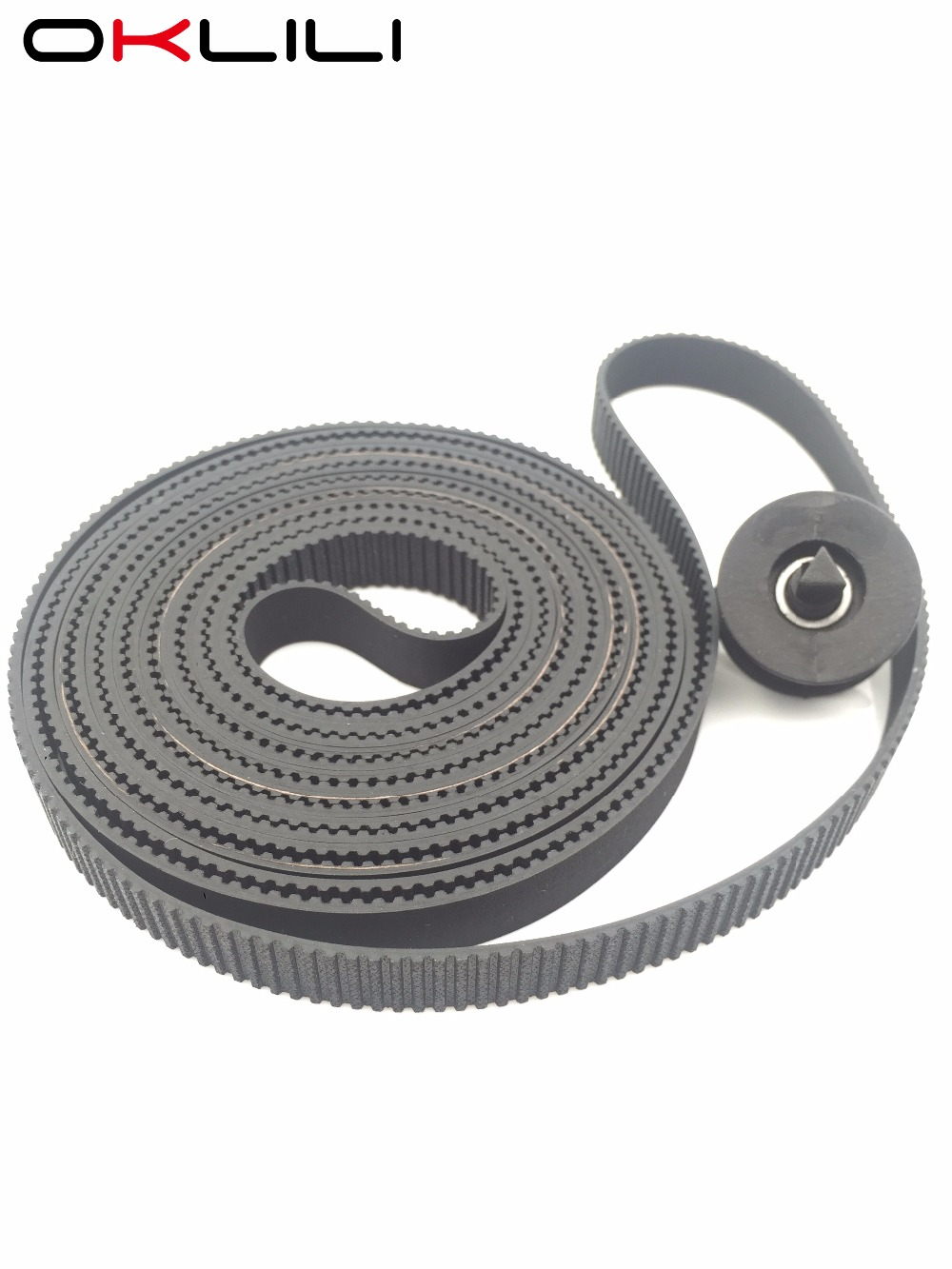 10PC* C7770-60014 Carriage Belt 42 B0 Size + Pulley for HP DesignJet 500 500PS 800 800PS 510 510PS 815 CC800PS Plus 820 815MFP free shipping original new c7770 60274 carriage assembly trailing cable kit b0 for hp500 500ps 800 800ps 815 820