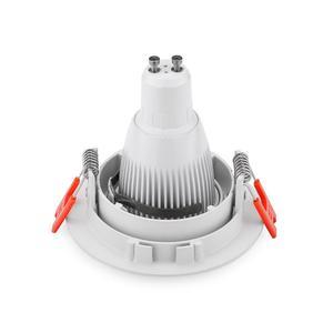 Image 4 - Spot lumineux encastrable GU10/MR16, 2 pièces, en aluminium, éclairage circulaire, luminaire dintérieur, luminaire de plafond, Led, livraison gratuite
