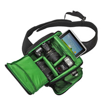 DSLR Cámara Sling Bag Mochila Bolsa de Bolsas de Cámara de Fotos fotografía de la cámara de vídeo para canon nikon pentax sony leica LMPJ