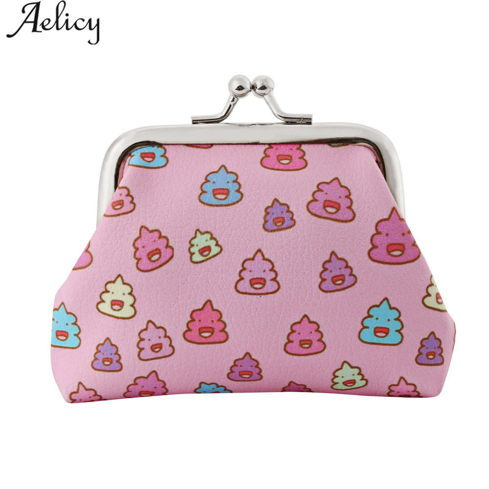 Aelicy 2018 New Arrivals Women Lady Retro Vintage Flower Small Wallet Hasp Purse Clutch Bag wallet for Coins Luxury Card Holder