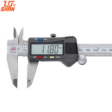 SHAN Digital Calipers 0-150/200/300/500mm Gauge Stainless Steel Ruler Inch/MM Electronic Micrometer Measuring Tools