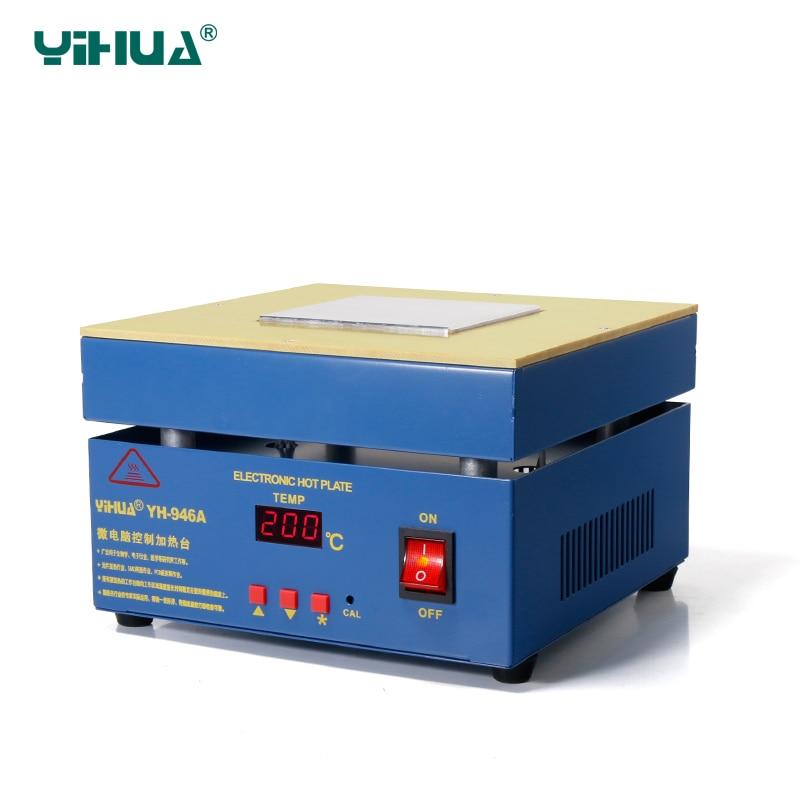 YIHUA 946A SMD BGA Preheating Station , Electronic Laptop PCB Bga Rework Station 110V ,220V