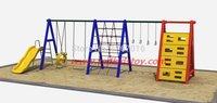 2015 экспортируется в Чили жилой район слайд качели/Детские площадки качели/открытый патио качели высокое качество антикоррозийная