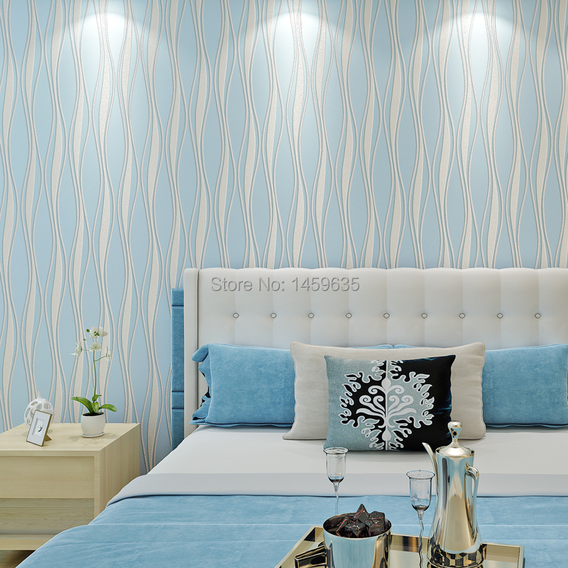 Modern and simple non-woven wallpaper stripes 3D stereoscopic relief moonlight forest backdrop bedroom living room wallpaper taisser h h deafalla non wood forest products and poverty alleviation in semi arid region