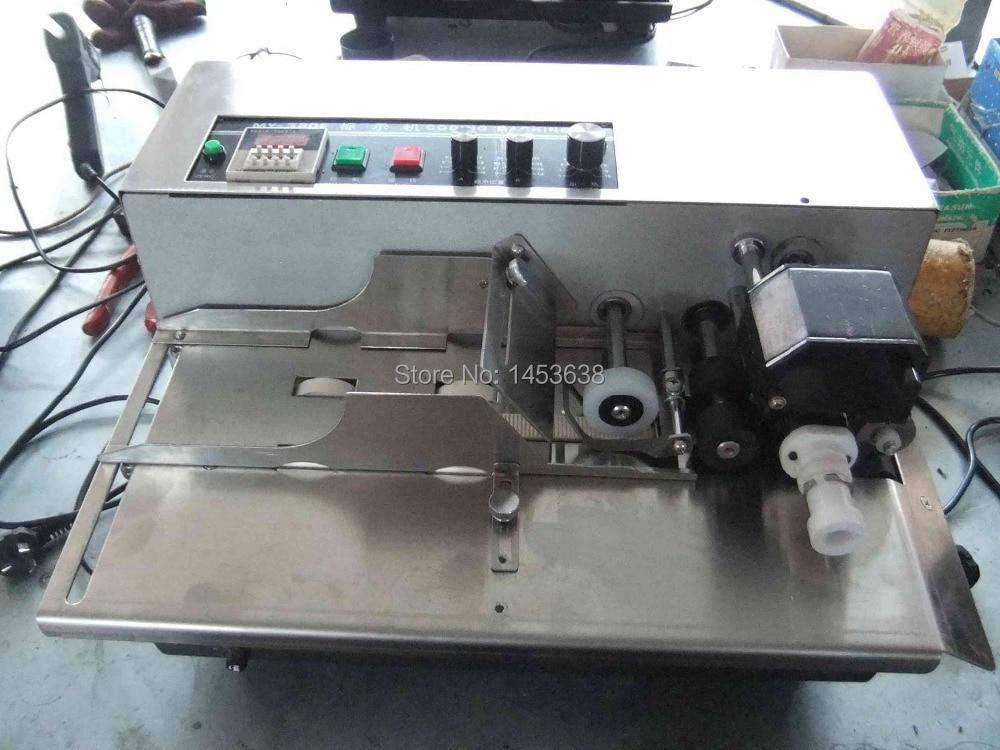 MY-380F Solid-ink maszyna do kodowania (farby w sprayu i Standard) zielony shell