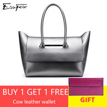Genuine Leather Luxury Women Handbag Bag Designer Leather Female Shoulder Bag Fashion Women PurseCasual Tote Bags for Women 2018