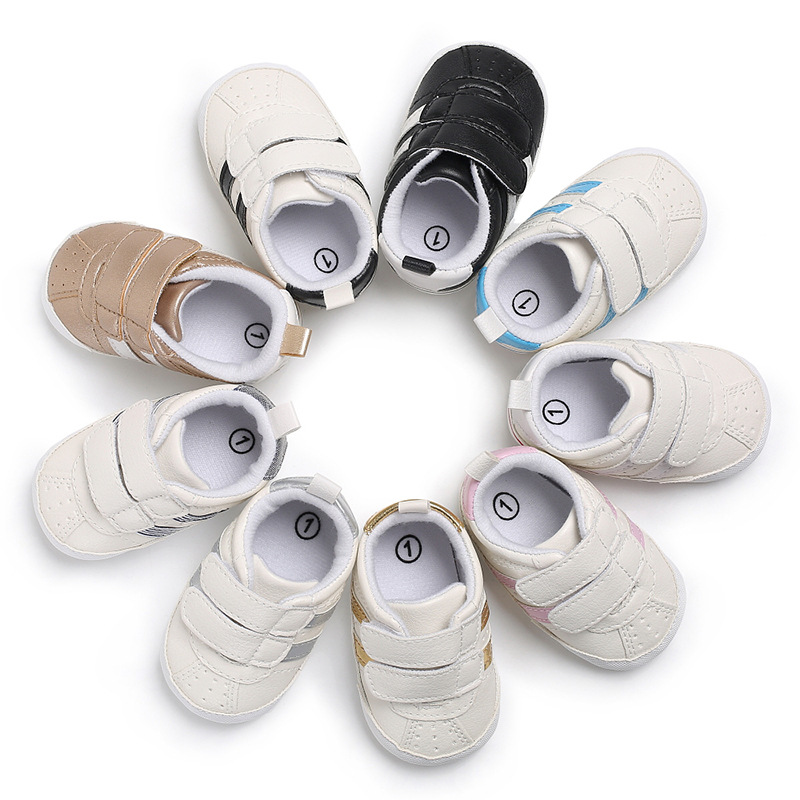 New Fashion Baby Shoes Sports Sneakers Newborn Baby Boys Girls Shoes Infant Toddler Soft Sole Anti-slip Shoes