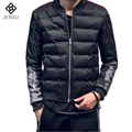 2016 Men Cotton Down Jackets Coats Parkas Jaqueta Masculina Men Casual Fashion Slim Fit Winter Cotton-Padded Veste Homme Jackets