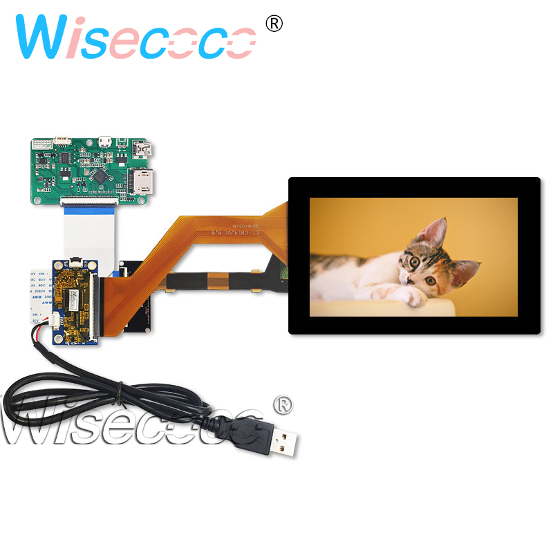 LS055R1SX04 5.5 Inch 2K Lcd 1440*2560 Screen Display Panel For Touch Panel Driver Board Video Projector DIY Projector