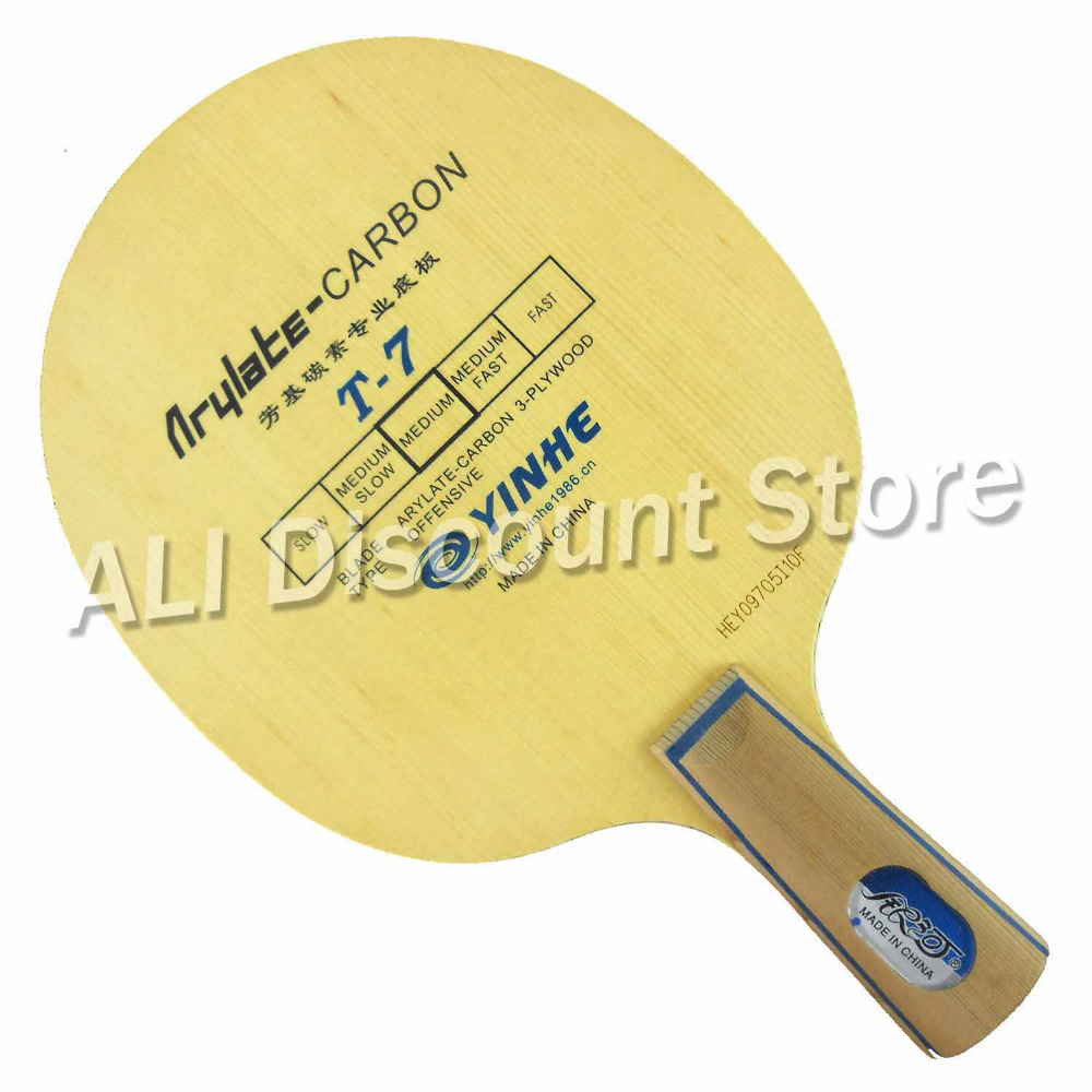 Galaxy Milky Way Yinhe T-7 T 7 T7 Arylate-Carbon OFF Table Tennis Blade for PingPong Racket Penhold short handle CS galaxy milky way yinhe t 3 t 3 t3 4 wood 3 carbon table tennis blade for pingpong racket