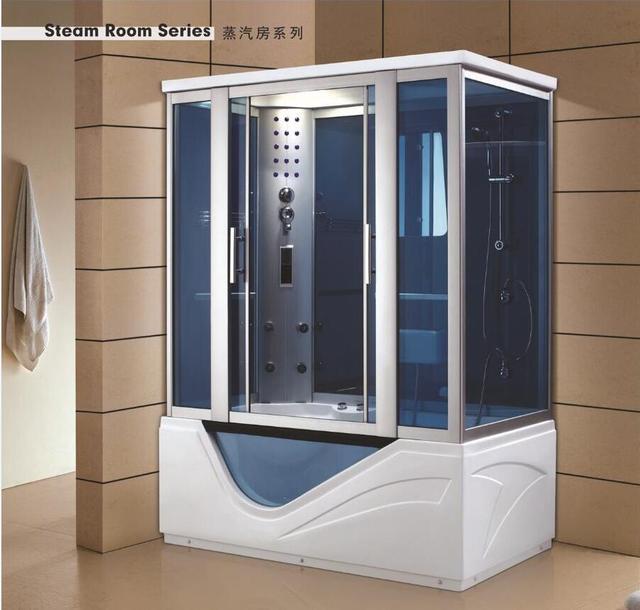 € 2282.72 |Aliexpress.com: Comprar De lujo de ducha de vapor gabinetes de  baño de vapor, cabinas de ducha cuarto de masaje caminando en sala de sauna  ...