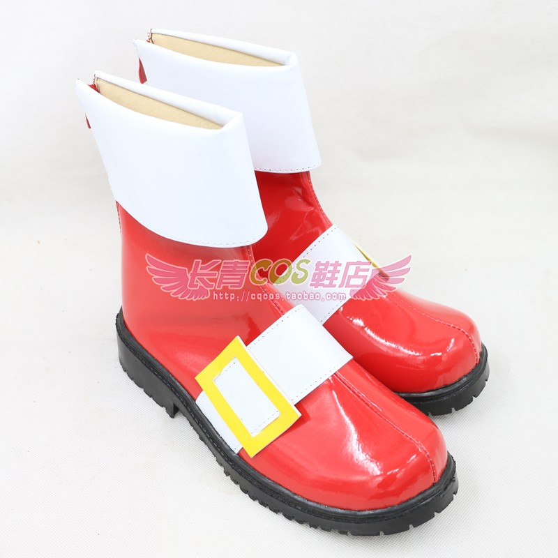 Anime Sonic the Hedgehog Cosplay shoes  custom made