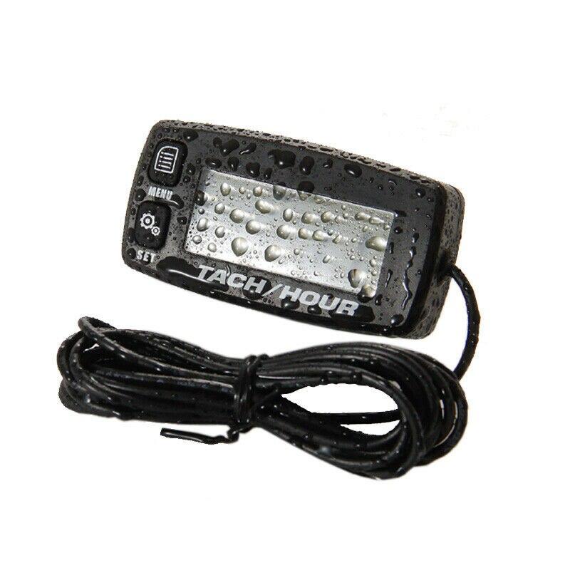 Tachymètre ATV étanche numérique remplacement moto moteur LCD accessoires jauges utiles électriques