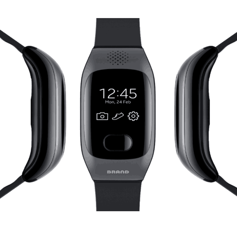 GPS Elderly Child Wirstbands Smart Bracelet Heart Rate Fitness Tracker Blood Pressure IP67 Waterproof for IOS Android Bracelet