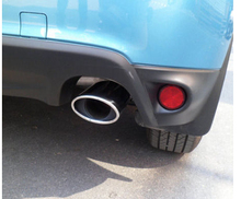 Tail Pipe Tail Pipe Exhaust Pipe Cover For Mitsubishi ASX RVR 2011 2013