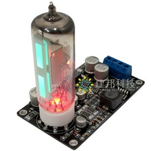 6E2 Tube Cat Eye Driver board Amplifier Power Amplifier Preamp DAC Audio LED Level Meter VU Indicator Harmonic Tube цена и фото