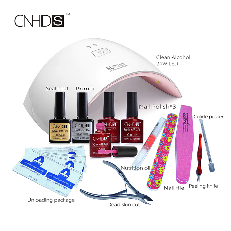 LULAA  Professional Nail Dryer UV Light 24W 9C LED UV+132 Color Lamp Manicure Pedicure Machine Nails UV Gel Polish Nail Art new professional dc 12v 2a 24w uv led nail lamp nail dryer unique design intelligent induction three setting buttons an adapter