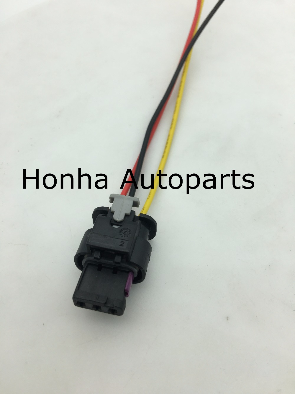 Flat Housing Connector Plug 3 pin Wiring Harness For VW Jetta ... on terminal block pin connector, tube pin connector, 10 pin connector, 6 pin molex connector, power supply pin connector, obd 16 pin connector, 14 pin connector, spring pin connector, ecu pin connector, pcb pin connector, seal pin connector, speaker pin connector, plug pin connector,