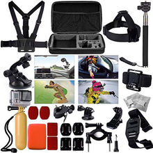 For Gopro Accessories for gopro accessories set for gopro hero 5 hero 4 3 kit for Go pro Xiaomi yi Camera sjcam accessories