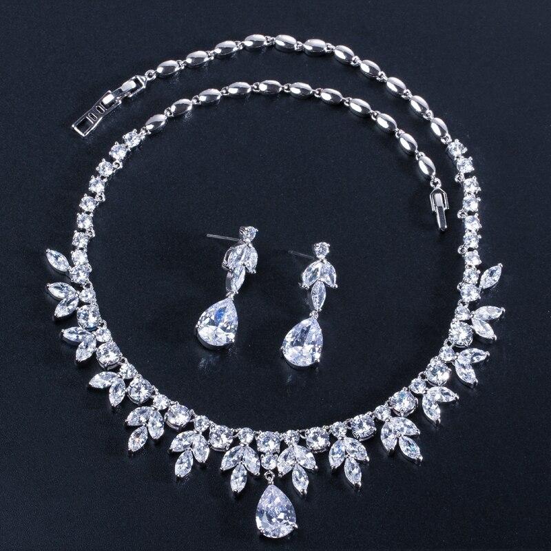 71ba7f9de1a9 UMCHO 100% joyería de plata 925 ronda creado Nano zafiro pendientes de Clip  pendientes largos