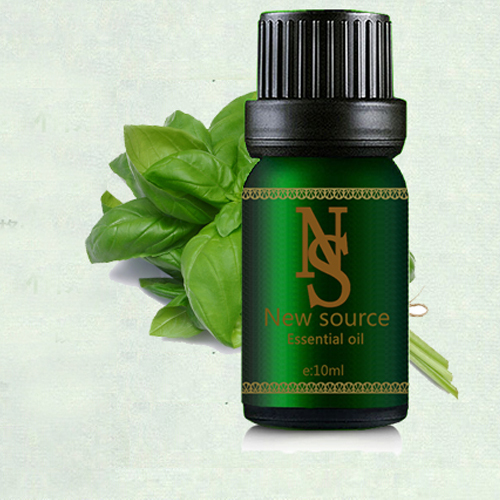 100% huile essentielle de basilic pur 10 ml stérilisation naturelle moniteurs de santé huile de Massage aide à la Digestion huile de soin de la peau Z27