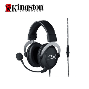 Image 1 - Kingston HyperX Cloud Pro Silver Gaming Headphone with Microphone Volume Control Headset 3.5mm Plug Steelseries Auriculares
