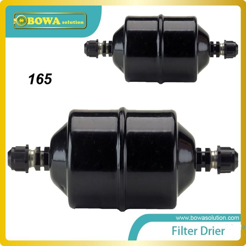 EC-165 Cheap and quality 5/8  heat pump Filter Dryer Use With R-12, R-22, R-500, R-502, R-402B, R-402A, R-134A, HCFC