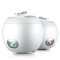 Rice Cooker Mini Small 1 2 People 2L Rice Cooker One button Operation Microcomputer Digital Display Smart Booking