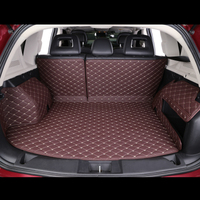 Custom car trunk mat For Mercedes Benz all models C ML GLA GLE GL CLA R A B GLS GLC class leather car accessories car styling